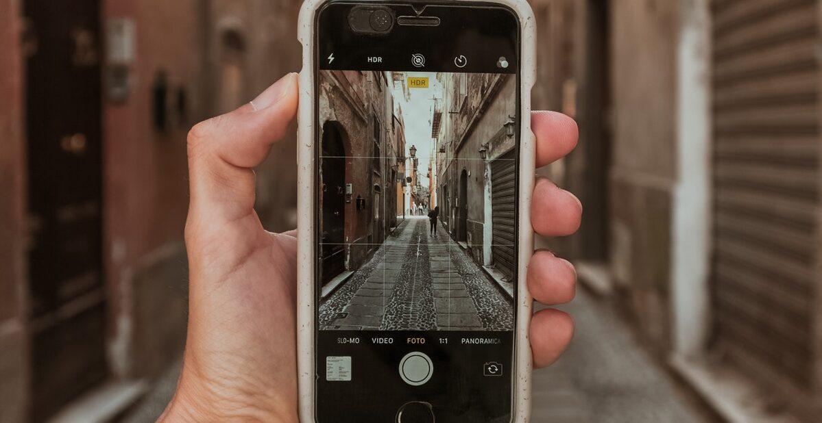 iPhone,グリッド,線,出し方,設定