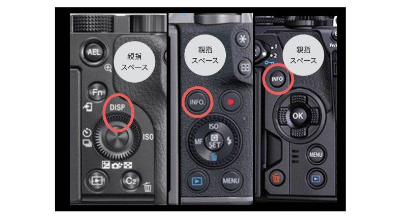 情報,表示,画面,切替,FLOWERCAMERA,ミラーレス,一眼,カメラ,写真,教室,初心者,使い方,撮り方,